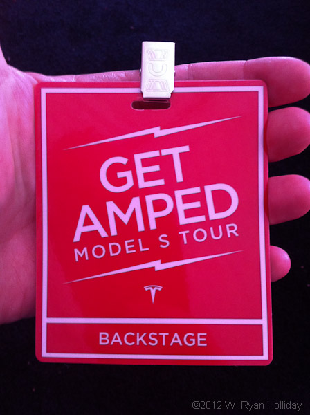 Tesla Get Amped Pass