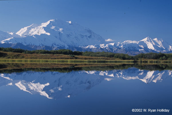 Denali from Reflection Pond