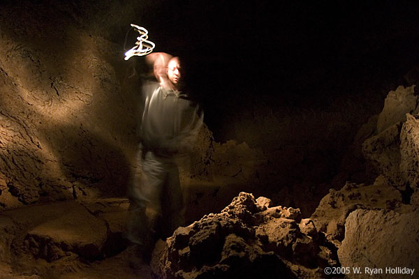 Self-Portrait in Junction Cave