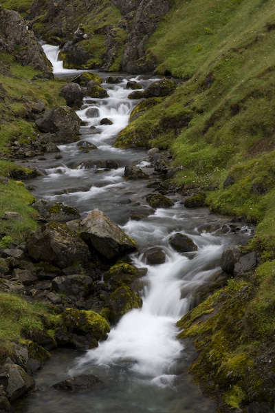 Waterfall on the Snaefellsnes Peninsula