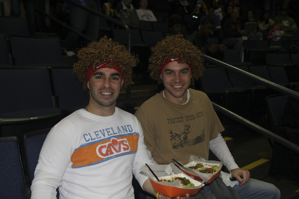 Aaron and Me, Cavs vs. Warriors