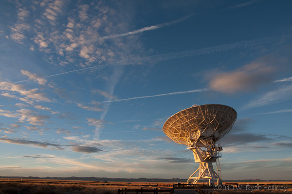 Very Large Array Radio Antenna