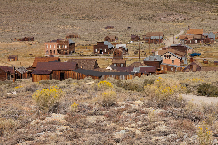 Bodie Ghost Town in the Eastern Sierra