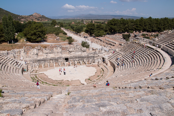 Grand theatre at Epeshus