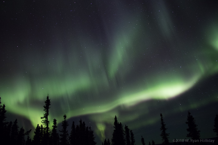 Aurora Borealis, taken north of Fairbanks