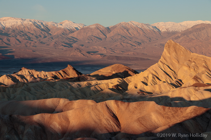 Zabriskie Point at Sunrise, Death Valley National Park