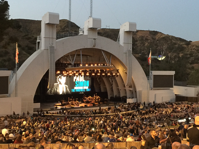 Paul Simon at the Hollywood Bowl
